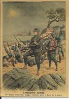 CP Illustrée, Le Petit Journal 1912, Serbie, Héroïne Serbe (femme, Arme, Guerre, Militaria) - Old Newspaper - Serbia