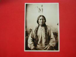 CPM INDIEN D'AMERIQUE DU NORD  SITTING BULL  SIOUX  NON VOYAGEE - Native Americans