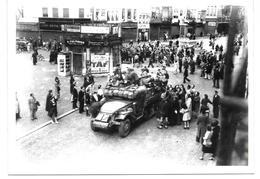 Liège Durant La Guerre 40-45 Photo 18x12,5 - War, Military