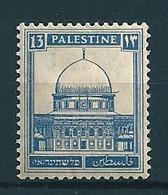 Palästina 1927/41  13M Ultramarin  Mi-Nr. 63  Falz /* MH - Palestine