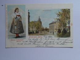 Czech M30  Jihlava Iglau 1901 Custom Ed Franz Schiller - Czech Republic
