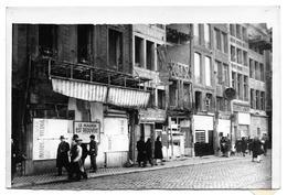 Liège Durant La Guerre 40-45 Place Du Marché Photo 18x12 - War, Military