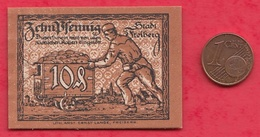 Allemagne 1 Notgeld 10 Pfenning  Stadt Freiberg UNC  Lot N °3861 - Collections