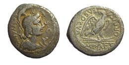 [H] +++ AR Denarius / Denier CESTIANUS. Goddess / Eagle - Scarce +++ - Römische Münzen