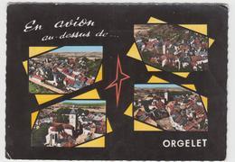 39 - ORGELET - En Avion Au Dessus - France