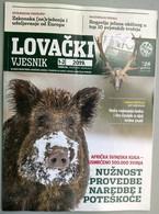 Croatia 2019 / Lovacki Vjesnik / Hunting Magazine - Books, Magazines, Comics