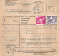 R Einzugsauftrag  Burgdorf - Worb Dorf             1963 - Suisse
