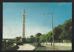 Qatar Picture Postcard Aerial View Mosque Doha View Card - Qatar