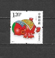 2007 - N. 3897** - 3899/900** (NUMERAZIONE STAMPWORLD) - 1949 - ... Repubblica Popolare