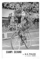 CARTE CYCLISME EMILE DAEMS SIGNEE TEAM PHILCO 1961 - Cycling