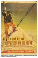 ALPINISME : PHOTO (1953), CONQUETE DE L'EVEREST, L'AFFICHE DU FILM SORTI QUELQUES MOIS APRES LA REUSSITE DE L'EXPEDITION - Other