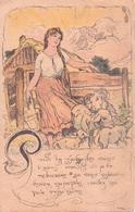 ALTE  AK  TSCHECHIEN - Nationalistisches Symbol / Gedicht - Beschriftet 1920 - Czech Republic