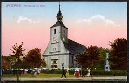 C5401 - TOP Burg - Kirche Kirchgang - Spreewald - Otto Schökel - Kirchen U. Kathedralen