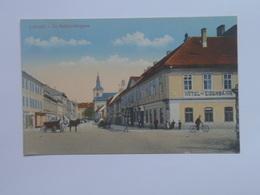 Czech M22 Lovosice 1920 Lobositz Hotel Eisenbahn - Czech Republic
