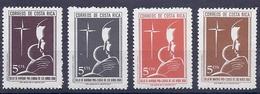 190031653   COSTA  RICA  YVERT    Nº  286/9  **/MNH - Costa Rica
