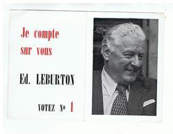 JM19.05 / MINI CALENDRIER / VOTEZ ED.LEBURTON - LISTE N°1 PSB - 1979 - Calendars