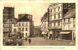 61515200 Cherbourg Octeville Basse Normandie Entree De La Rue Marechal Foch Sur - France