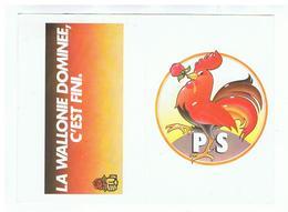 JM19.05 / MINI CALENDRIER / PS - LA WALLONIE DOMINEE C EST FINI - 1982 - Calendars
