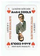 JM19.05 / MINI CALENDRIER /  VOTEZ SOCIALISTE LISTE N°1 / ANDRE COOLS - 1979 - Calendars