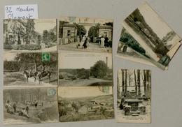 92 - HAUT DE SEINE - MEUDON - 9 CPA - Meudon