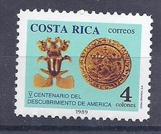 190031657   COSTA  RICA  YVERT    Nº  522  **/MNH - Costa Rica