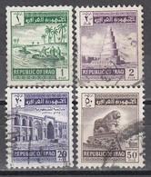 IRAK 1963 - MiNr: 351 - 366  Lot 4x   Used - Irak