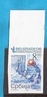 2006 WATERPOLO BEOGRAD SPORT  SRBIJA SERBIA JUGOSLAWIEN JUGOSLAVIJA RRR IMPERFORATE  MNH - Wasserball