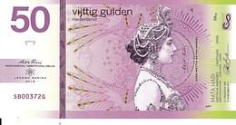MUJAND REPUBLIC Série Légende Mata Hari 50 Gulden 2019 UNC Billet Polymer - Fictifs & Spécimens