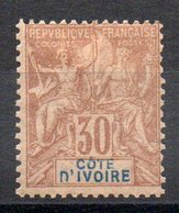 COTE D'IVOIRE - YT N° 9 - Neuf * - MH - Cote: 40,00 € - Costa D'Avorio (1892-1944)