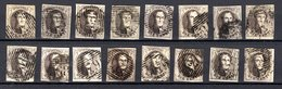 Lot De Médaillons 10 Centimes N° 6 - Tous Margés - 1851-1857 Médaillons (6/8)