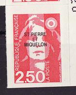 SPM 1992 Y&T N°557 - Michel N°630 *** - 2,50f Marianne Du Bicentenaire - St.Pierre & Miquelon