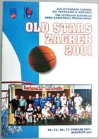 Croatia Biograd 2001 / OLD STARS ZAGREB / The Veterans European Open Basketball Tournament / Brochure - Sport