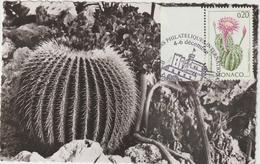 Carte Maximum MONACO N° Yvert 1915 (JARDIN EXOTIQUE) Obl Sp Ill (Ed Estel) - Maximum Cards