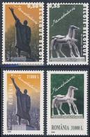 2004 Joint Issue / Gemeischaftsausgabe - Belgique Mi 3357 /8 + Romania Mi 5863 /4 - Sculptures Idel Ianchelevici - Gezamelijke Uitgaven