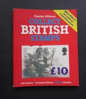 COLLECT BRITISH STAMPS 45th EDITION ( A STANLEY GIBBONS CHECK LIST ) 1993 USED - United Kingdom