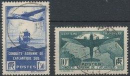 [56281]TB//O/Used-c:155e-N° 320/21, Traversée De L'Atlantique-Sud - Gebraucht