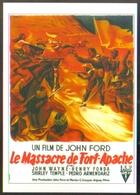 Carte Postale Illustration : Grinsson (cinéma Affiche Film Western) Le Massacre De Fort-Apache (John Wayne - John Ford) - Affiches Sur Carte