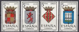 ESPAÑA - SPAGNA - SPAIN - ESPAGNE- 1964 - Lotto Di 4 Valori Nuovi MNH: Yvert 1213/1214B MNH. - 1931-Oggi: 2. Rep. - ... Juan Carlos I