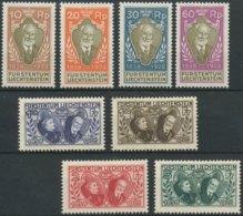 [56720]TB//*/Mh-c:450e-N° 82/89, 70 Ans De L'avènement Du Prince - Liechtenstein