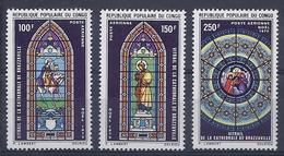 190031661   CONGO  YVERT    AEREO  Nº  105/7  **/MNH - República Democrática Del Congo (1964-71)