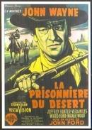 Carte Postale Illustration : Jean Mascii (cinéma Affiche Film Western) La Prisonnière Du Désert (John Wayne - John Ford) - Affiches Sur Carte