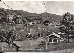 Gandino M. 553 - Stazione Di Partenza Seggiovia - Italia
