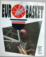 Croatia 1989 / EUROBASKET  ZAGREB '89 / 26th European Basketball Championship For Men / Book - Sport