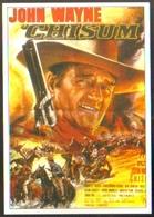 Carte Postale Illustration : Jean Mascii (cinéma Affiche Film Western) Chisum (John Wayne) - Affiches Sur Carte