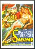 Carte Postale Illustration : Grinsson (cinéma Affiche Film) Salomé (Rita Hayworth - Stewart Granger) - Affiches Sur Carte