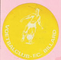 Sticker - VOETBALCLUB - F.C. BILLARD - Autocollants