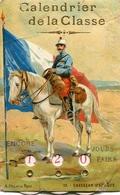 "Calendario-Calendarietto-Calendrier-Kalender-Calendar-Cart.Postale Vg1907""Chasseur D'Afrique""9 X 14 - Calendars"