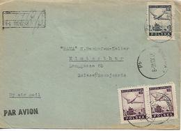 POLAND 1946 COVER SENT TO WINTERTHUR 3 STAMPS COVER USED - 1944-.... Republic