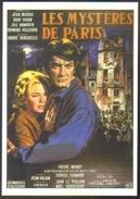 Carte Postale Illustration : Jean Mascii (cinéma Affiche Film) Les Mystères De Paris (Jean Marais - Dany Robin) - Affiches Sur Carte