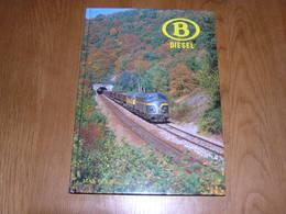 B DIESEL Max Delie Chemins De Fer Belge SNCB NMBS Train NMBS Locomotive Type 210 212 213 230 232 Série 50 52 53 60 62 65 - Railway & Tramway